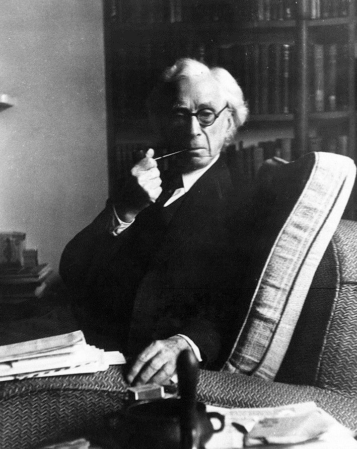 Bertrand Russell 1954