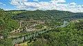 Besançon, vue sur Beure depuis la colline de Rosemont.jpg