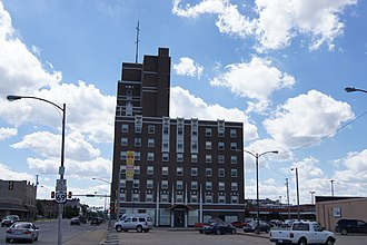 National Register of Historic Places listings in Crawford County, Kansas - Image: Besse Hotel