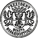 The official seal of Białystok.