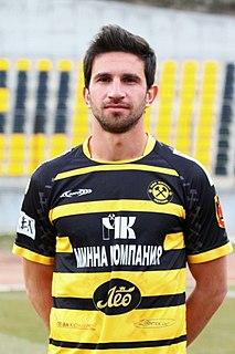 Krum Bibishkov Bulgarian association football player