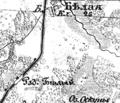 Bila Station (Bile), 1866—1887, map.png