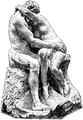 Bildhuggarkonst, Kyssen, af Rodin, Nordisk familjebok.png