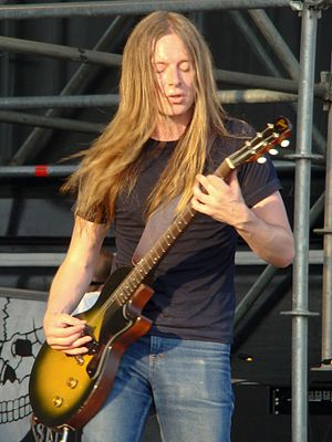 Carcass (band) - Bill Steer at Gods of Metal, Bologna, Italy (2008)