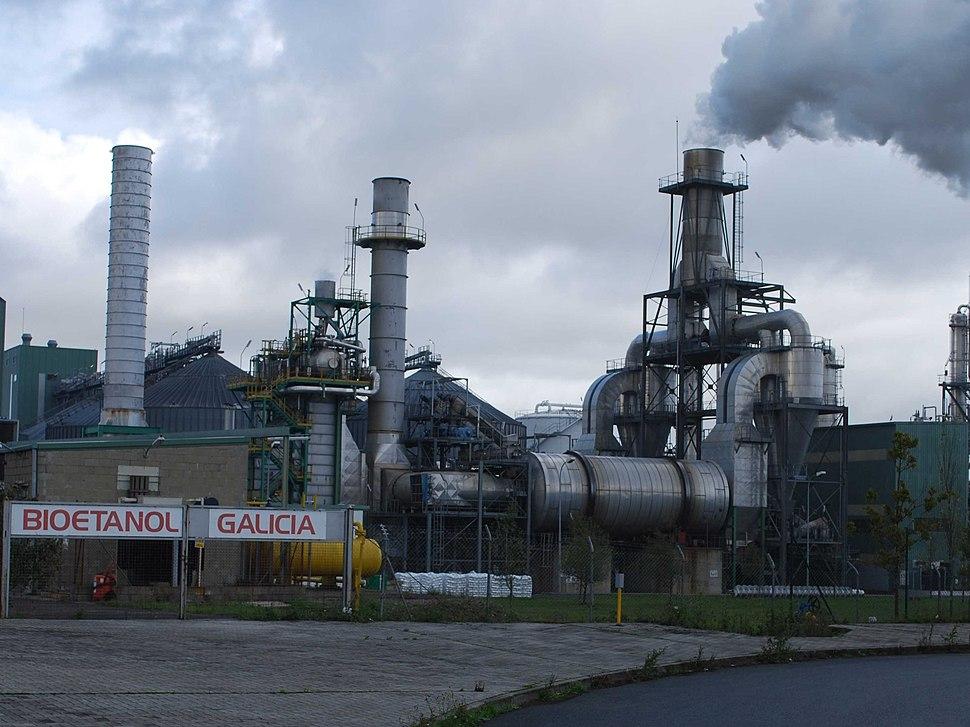 Planta de bioetanol.