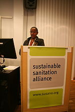 Birgoy Lamizana (UNEP) addressing the gathering (15532826511).jpg