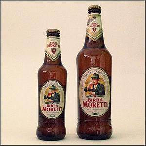 Birra Moretti - Birra Moretti bottled at 33cl and 66cl