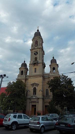 """Biserica romano catolică """"Pogorârea Sf. Spirit"""" - Oradea.JPG"""