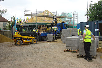 Kingdom Hall - A Kingdom Hall under construction in Bishopsworth, Bristol, UK