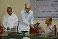 Biswatosh Sengupta - Shyamal Kumar Sen - Ramananda Bandyopadhyay - Booklet Release - Benu Sen Memorial Lecture - Kolkata 2014-05-26 4835.JPG