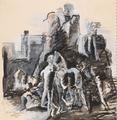 Bjarne Ness Gjøglerne 1926 tegning.png