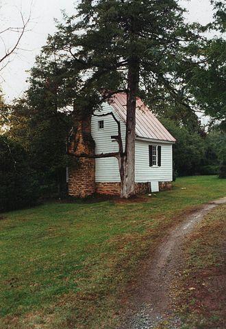Black Walnut (Clover, Virginia) - Black Walnut Plantation School House, Circa 1774