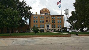 National Register of Historic Places listings in Blaine County, Oklahoma - Image: Blaine County Courthouse , Watonga, Oklahoma