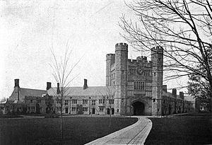 History of Princeton University - Blair Hall c1907