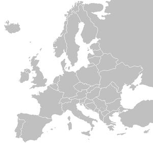 Where is Switzerland located in Europe?