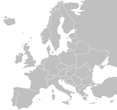 Blank Map Of Europe During Wwi