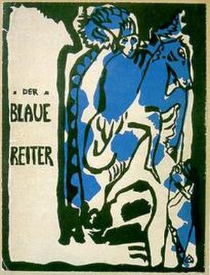 1912 in art - Cover of Der Blaue Reiter Almanac