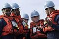 Blue RIdge Sailors wait for the USNS Tippecanoe resupply ship to arrive DVIDS87831.jpg