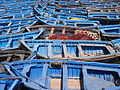 Blue fishing boats of Essaouira (2845062280).jpg