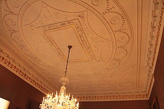 Dundas House - Boardroom ceiling, Dundas House