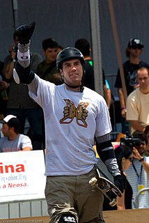 Bob Burnquist Brazilian skateboarder