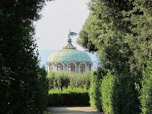 Kaffeehaus del Giardino di Bobol (particolare della cupola)