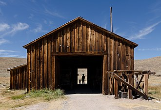 Bodie, California - County Barn, Bodie, California