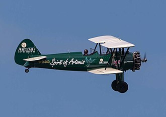 Tracey Curtis-Taylor - Spirit of Artemis flown by Curtis-Taylor, Amy Johnson Memorial Air Show, Herne Bay, August 2015