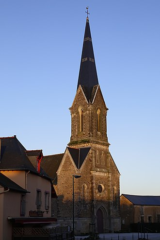 Boisgervilly - The church of Boisgervilly
