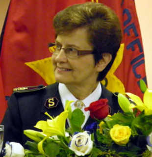 Linda Bond General of The Salvation Army