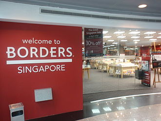 Borders Group - The former flagship Borders Singapore store