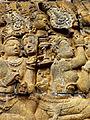 Borobudur - Lalitavistara - 012 E, The Bodhisattva descends to Earth accompanied by the Gods (detail 1) (11247885994).jpg