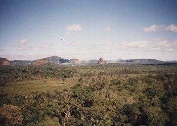 Cerro Cora National Park Sign