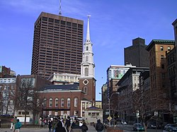 Die Park Street Church in Boston