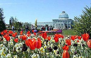 Lewis Ginter Botanical Garden - Image: Botanicalgarden