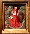 Bottega di rogier van der weyden, san girolamo nel deserto, 1450-65 ca.jpg