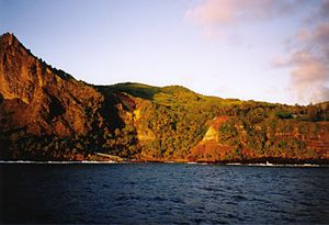 Adamstown, Pitcairn Islands - Image: Bounty bay