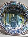 Bowl with Saint Nicholas of Tolentino Maiolica Gubbio 1524 CE (3) (1217136926).jpg