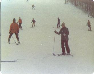 Boyne Mountain Resort - Skiers at Boyne Mountain in 1978.