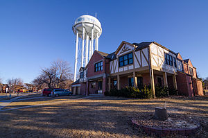 Boys Town, Nebraska - Boys Town water tower