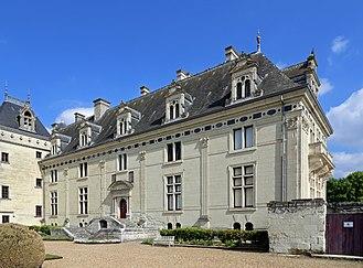 Château de Brézé - View of Château de Brézé