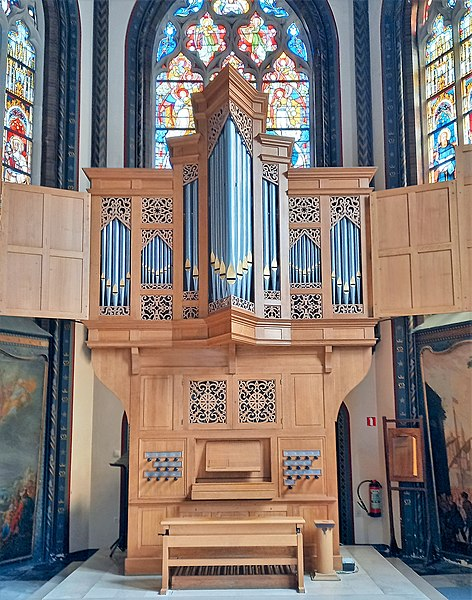 Datei:Brügge, Sint-Gillis (Chororgel) (2).jpg