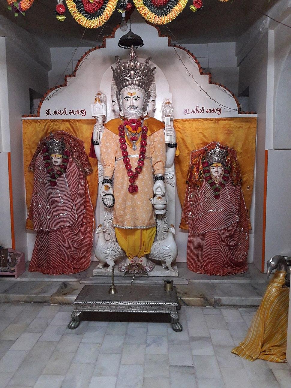 Brahmaji Temple of Khedbrahma8
