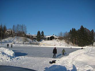 Drammen - Bandy field