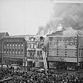 Brand bij V en D te Leeuwarden Overzicht van de brand, Bestanddeelnr 914-9536.jpg