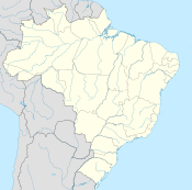 Jim Jones is located in Brazil