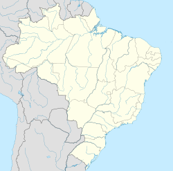 Brasília is located in Brazil