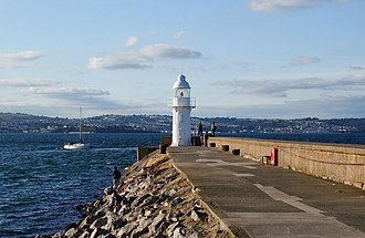 Brixham - Brixham breakwater and lighthouse