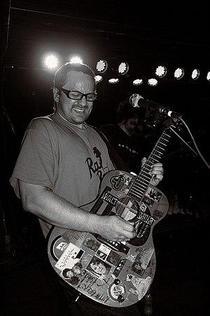 Brendan B. Brown - Brown performing live in May 2010
