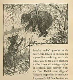 Compar Volpone e Compare Orso, da Uncle Remus, His Songs and His Sayings: The Folk-Lore of the Old Plantation, 1881